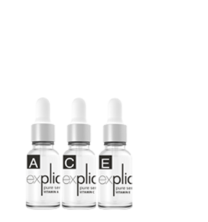 explicit VITAMIN POWER PACK A+C+E